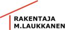 Rakentaja M. Laukkanen logo
